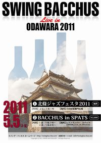 Swing Bacchus Live in ODAWARA Flyer S size
